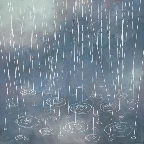 Hujan Rintik Rintik