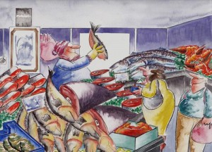 Ke Pasar Ikan